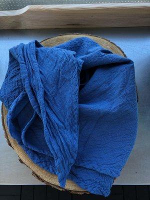 Ohne Neckerchief steel blue cotton