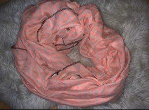 Foulard rose fluo