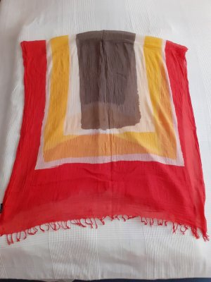 keine Neckerchief multicolored mixture fibre