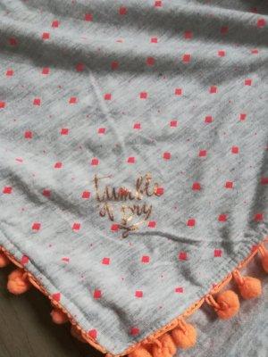 Neckerchief light grey-orange