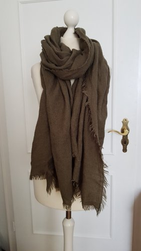 Gina Tricot Fringed Scarf multicolored mixture fibre
