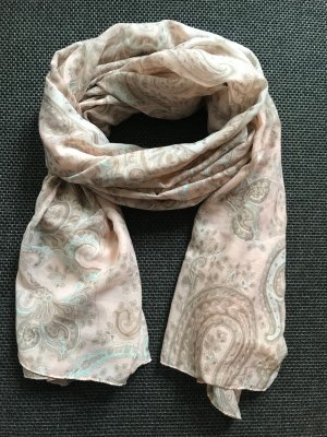Halstuch / Schal von Six, rosa mit Muster *neuwertig*