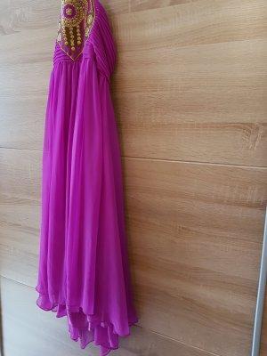 Halterneck Kleid Lila Gr. M (38)