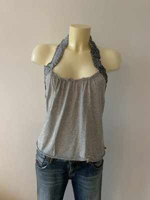 Boss Orange Halter Top light grey