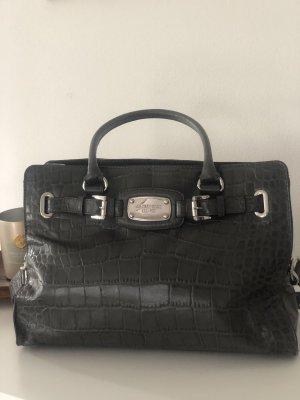 Hamilton East West Satchel Croco Leather