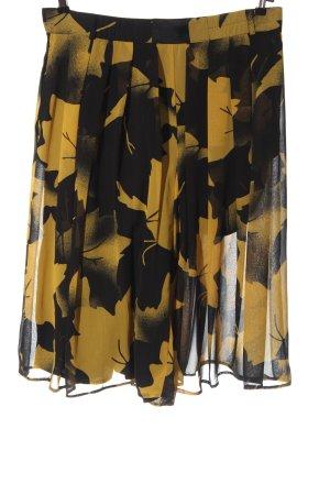Hammer Plaid Skirt black-primrose graphic pattern casual look