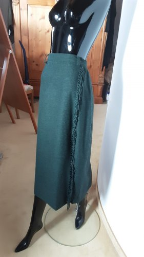 Hammer Wool Skirt dark green