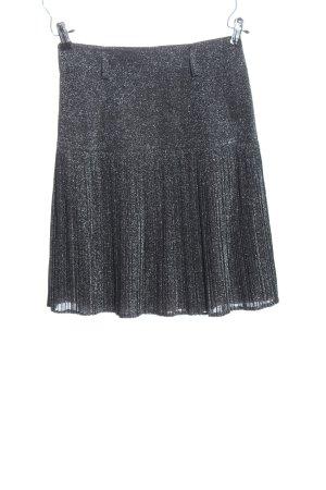 Hammer Plaid Skirt black casual look