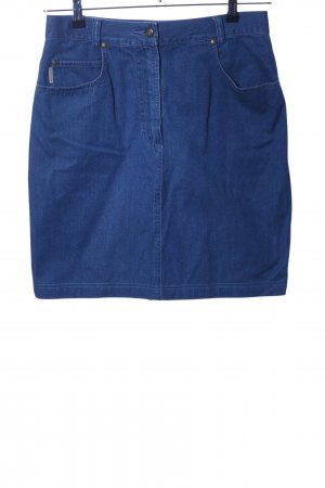 Hammer Jeansrock blau Casual-Look