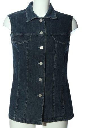 Hammer Gilet en jean bleu style décontracté