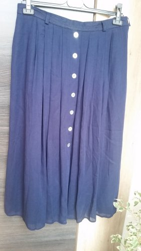 Hammer Falda larga azul oscuro