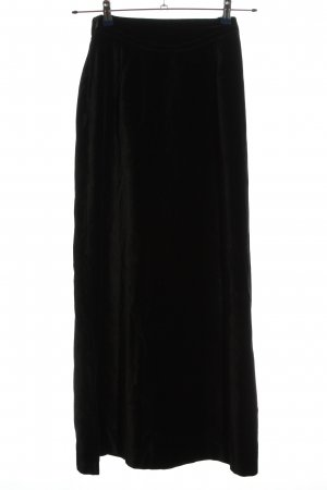 Hammer Maxi Skirt black business style