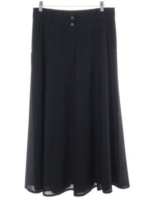 Hammer Spódnica midi czarny W stylu casual
