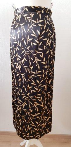Hammer Falda larga negro-color oro