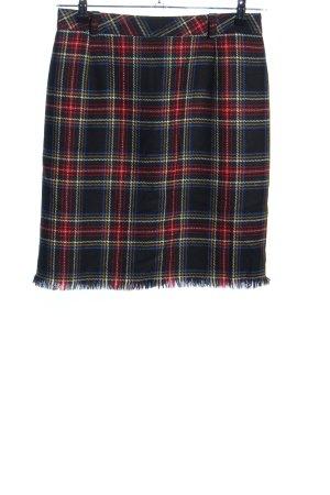 Hammer Jupe tricotée motif à carreaux style décontracté