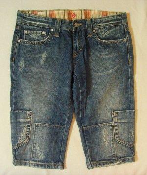 Denim Shorts blue-steel blue cotton