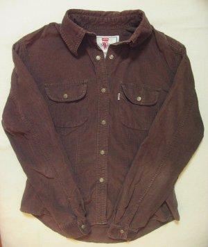 Levi's Camicia a maniche lunghe marrone Cotone
