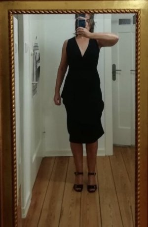 Vivienne Westwood Vestido a media pierna negro