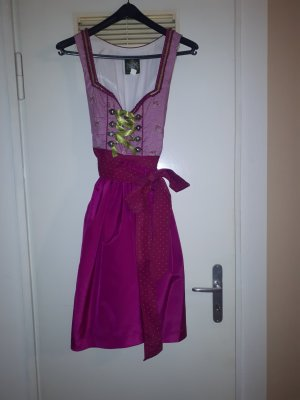 Hammerschmid Dirndl pink-meadow green