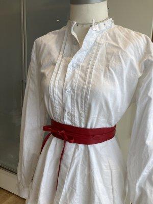 Hammerschmid Tradycyjna koszula w kolorze białej wełny-biały Bawełna