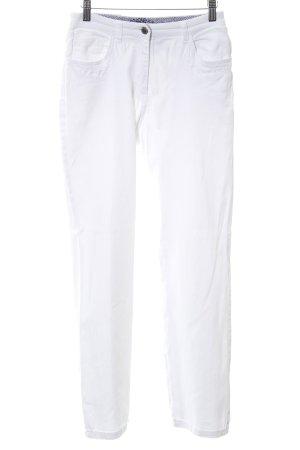 Hammerschmid High Waist Jeans white casual look
