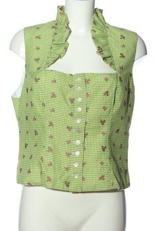 Hammerschmid Blusa tradizionale motivo floreale stile casual