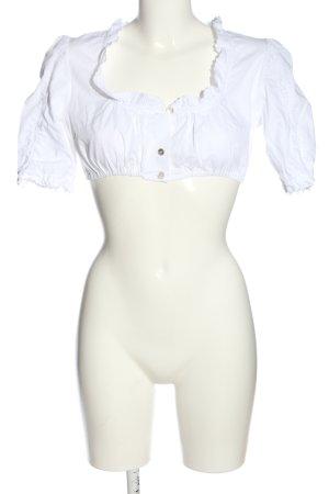 Hammerschmid Blouse bavaroise blanc style classique