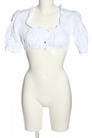Hammerschmid Traditional Blouse white classic style