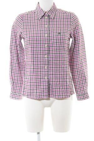 Hammerschmid Folkloristische hemd geruite print casual uitstraling
