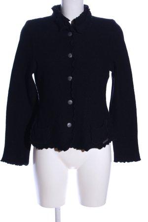 Hammerschmid Folkloristische jas zwart elegant