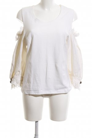 Hammerschmid Traditional Jumper white casual look
