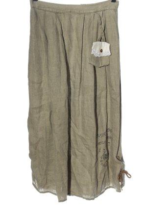 Hammerschmid Traditional Skirt khaki classic style