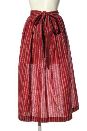 Hammerschmid Tablier bavarois rouge-blanc style classique