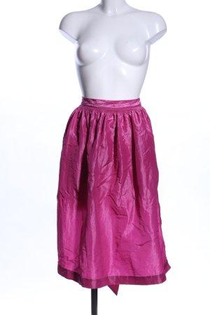 Hammerschmid Traditional Apron pink wet-look