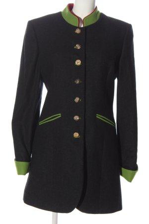 Hammerschmid Between-Seasons-Coat blue-green casual look