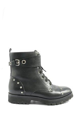 Hammerstein Zipper Booties black casual look
