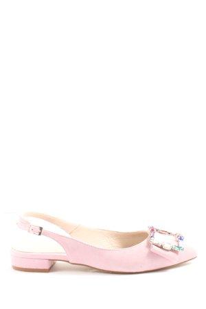 Hammerstein Slingback Ballerinas pink elegant