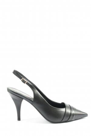 Hammerstein Slingback-Pumps schwarz Business-Look