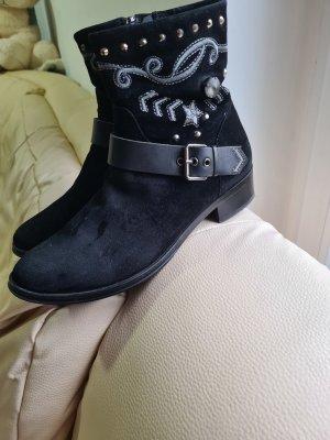 Hammerstein Zipper Booties black
