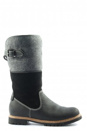 Hammerstein Wide Calf Boots black-light grey casual look