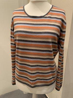 Hamptons Cashmere Kaszmirowy sweter Wielokolorowy Kaszmir