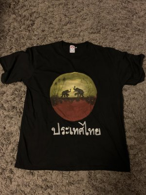 Unikat T-shirt multicolore Cotone