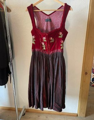 Brigitte Hernuss Dirndl multicolored silk
