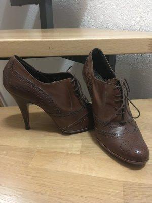 Handgearbeitete Leder High Heels