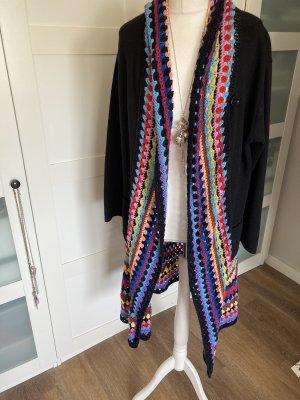 Unikat Einzelstück Cappotto a maglia multicolore