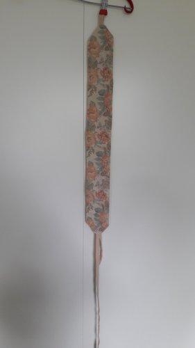 Handgefertigt Taillengürtel Obi-Stil Vintage-Blumenmuster nude grün rot orange
