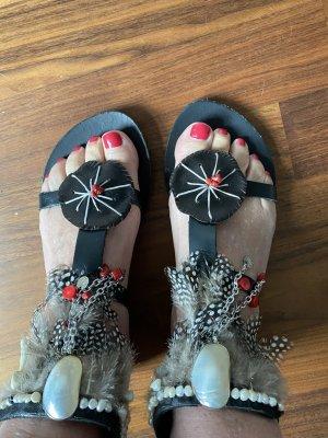 Innovative Greek Sandals Chanclas multicolor Cuero
