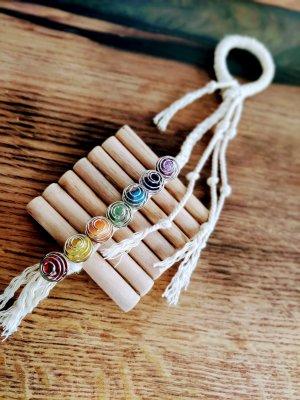 handgefertigten Amulett 7 Chakras