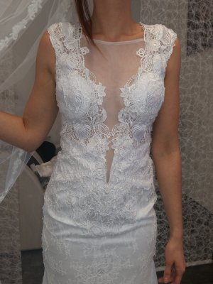 Handgefertigtes Brautkleid