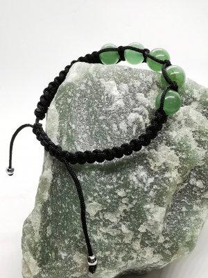 GOA Bracciale di perle nero-verde-grigio